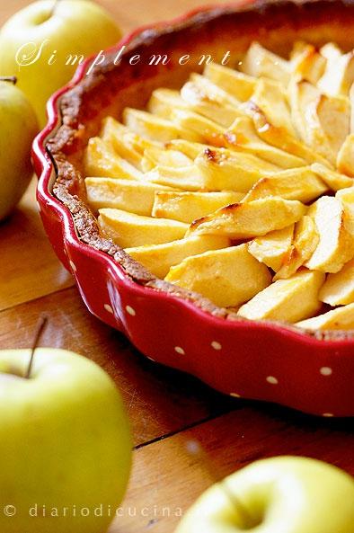 ricetta,foto,cucina,torta di mele,tarte aux pommes,francia