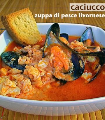 Zuppa Di Pesce Livornese Caciucco Diario Di Cucina