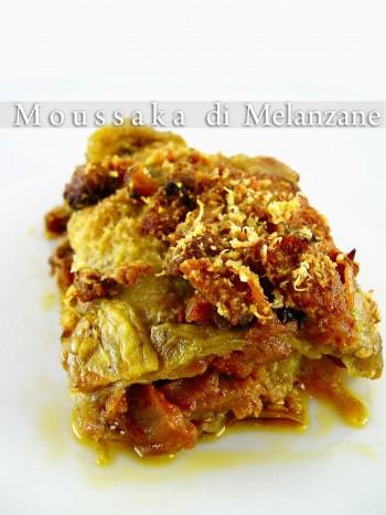 Melidzanes Moussaka - Moussaka di Melanzane