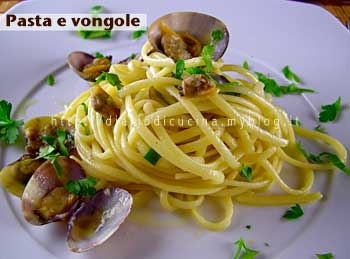 ricette,foto,pasta,vongole