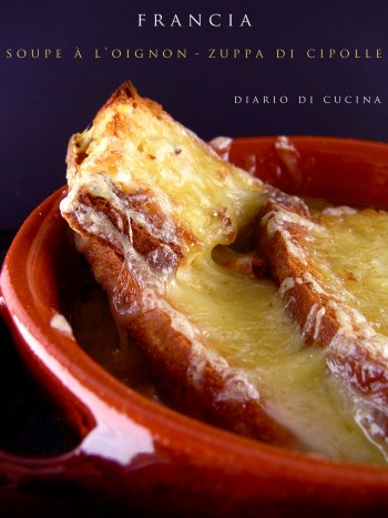 Soupe à l'onion - Zuppa di cipolle